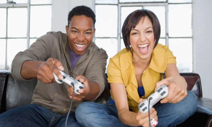 Video Games Keeping Relationships Together  Black, White -4686